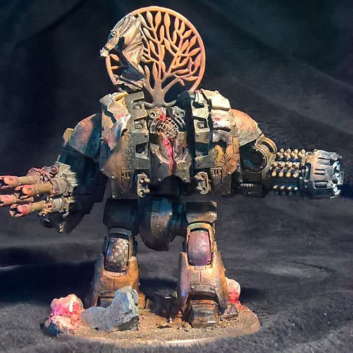 Lonely Kitbasher 40K forge world Sagodjur Fjorlag leviathan dreadnaught