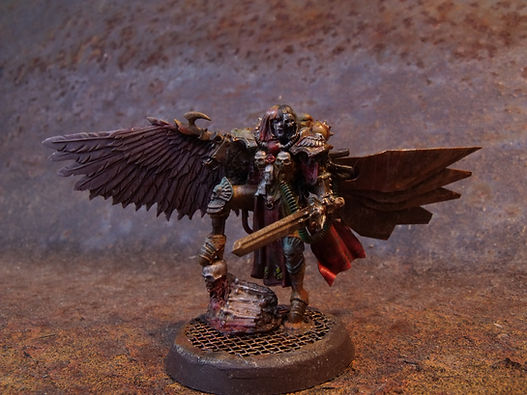 Lonely Kitbasher 40K blanchitsu canoness veridyan