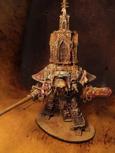 Lonely Kitbasher 40K blanchitsu imperial knight
