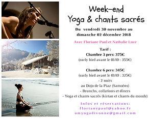 yoga sonore, yoga et chants sacrés, yoga sonore geneve