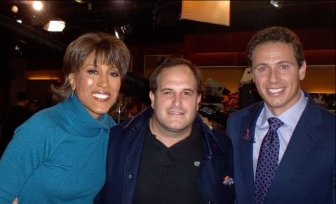 Robbin Roberts and Chris Cuomo