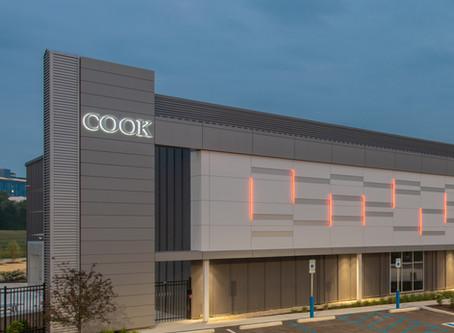 Cook Regentec Award-winning Innovation Center on Indiana Avenue (designed by BSA LifeStructures)