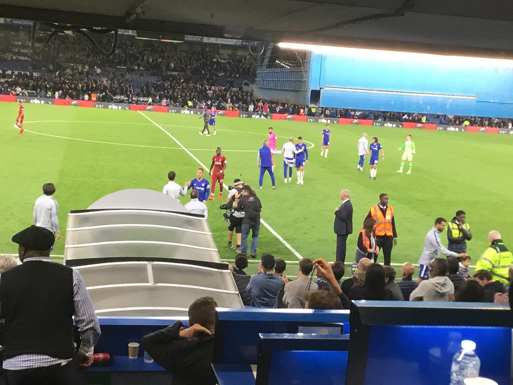 Chelsea and Liverpool draw 1-1 at Stamford Bridge Photo by Paul Lagan