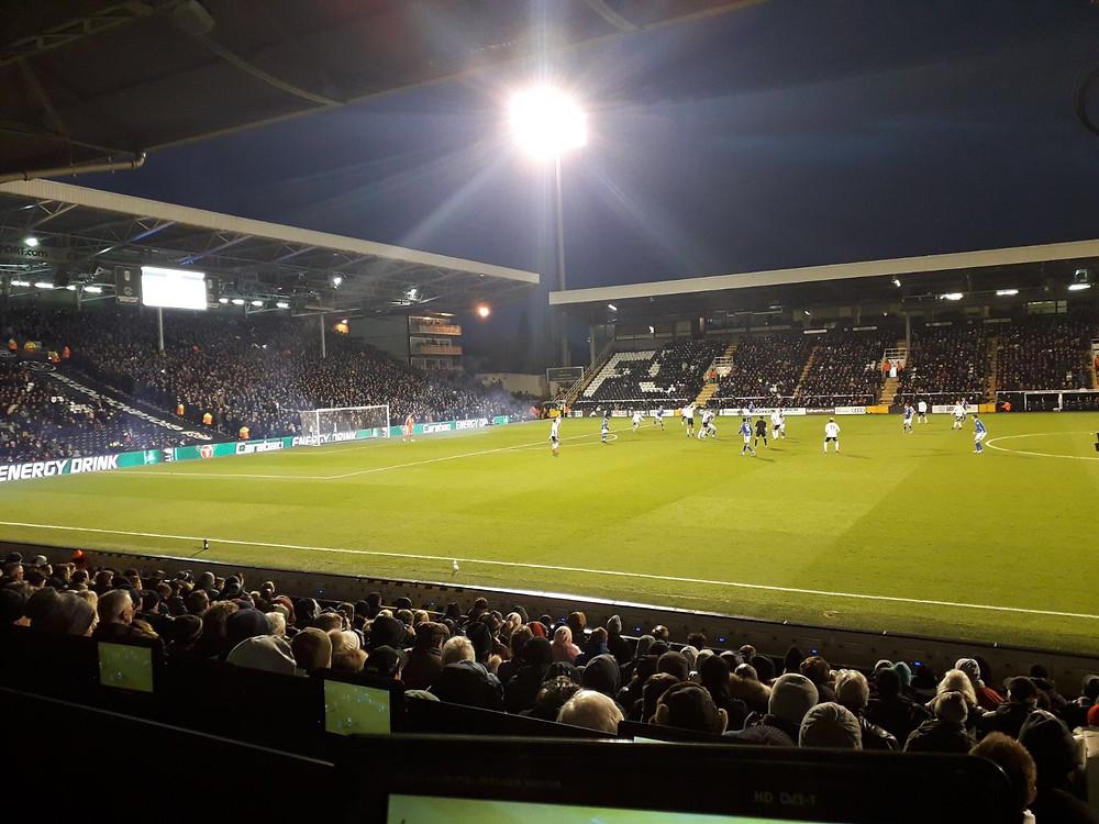 Action from Fulham v Birmingham City Photo: Yann Tear