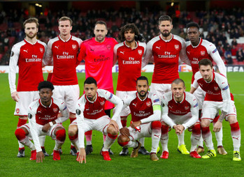 Arsenal hammer Bate 6-0 to top Europa Group H