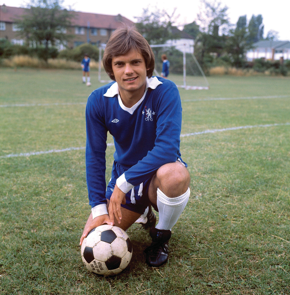 Ray Wilkins in 1976