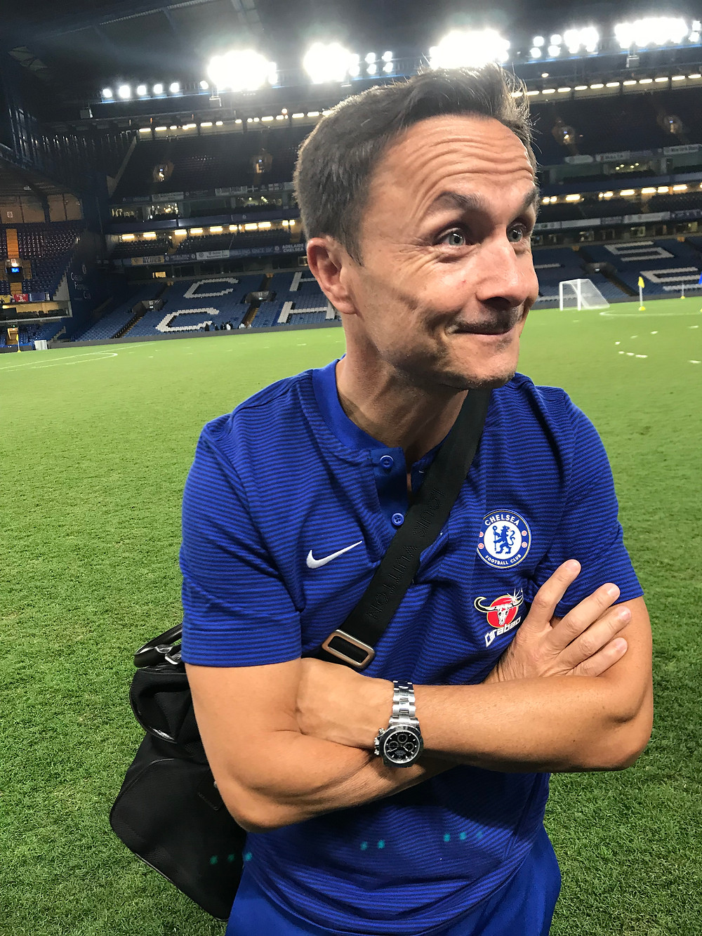 Dennis Wise Photo by Paul Lagan