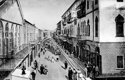 יפו רחוב בוסטרוס (רזיאל) 1903