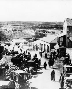 ירושלים מבט משער יפו מאה 19
