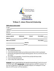 Fall - CAS Student Application Form (jpe
