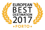 Porto has won the prize for best european destination 2017 !!!