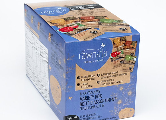 Flax Cracker Variety Box