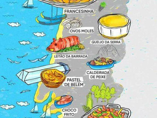 Food Map of Portugal