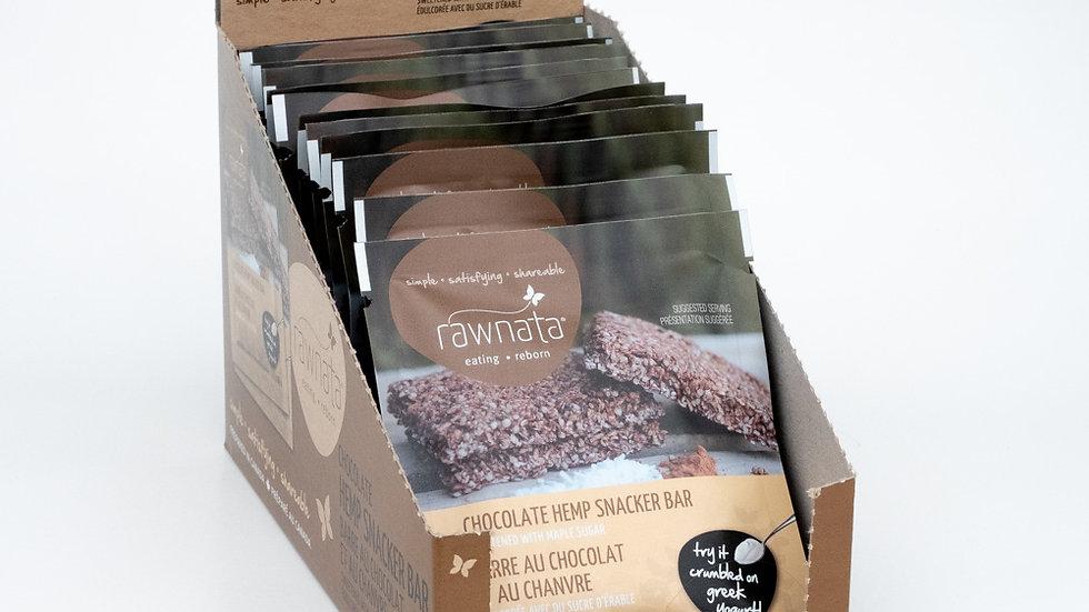 Chocolate Hemp Snacker Bars