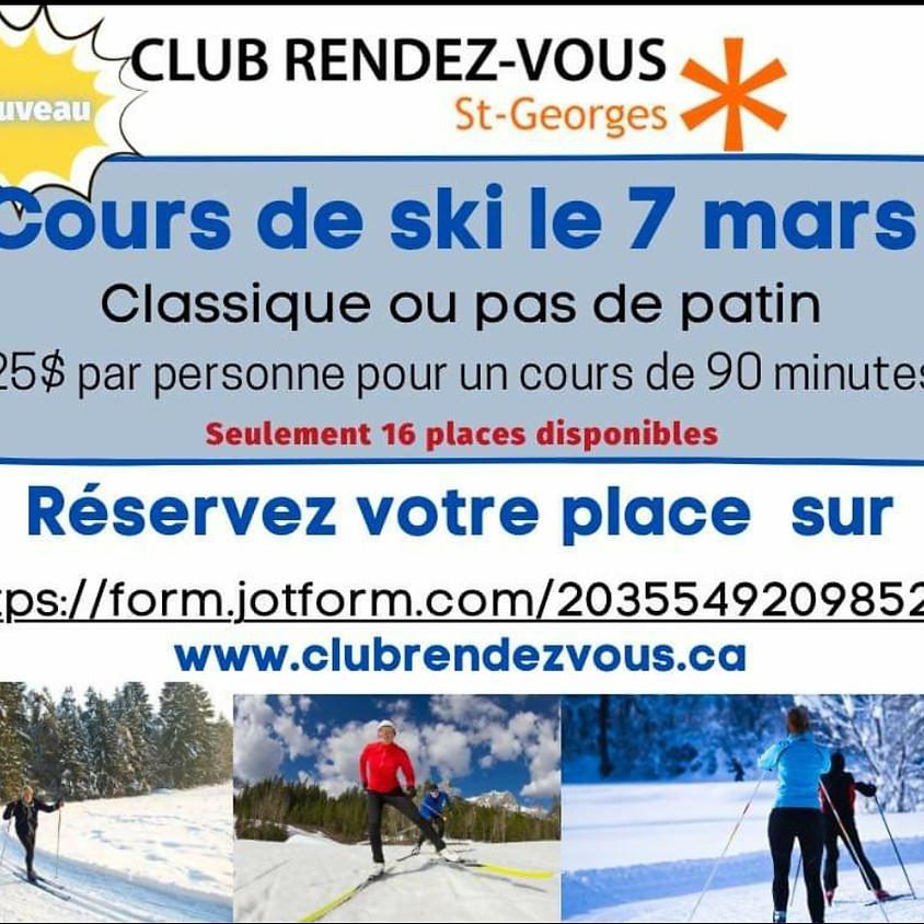 Formation de ski de fond