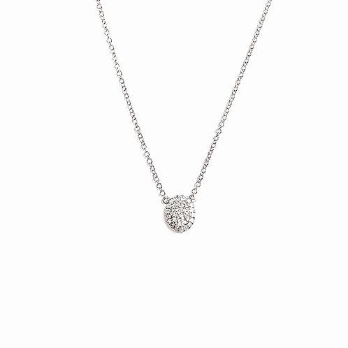 """Sweet Brilliance"" Diamond Necklace"