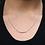 """Thumbnail: """"Elleve"""" Diamond Bar Necklace"""