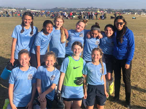 2008 Girls during their State Cup run!
