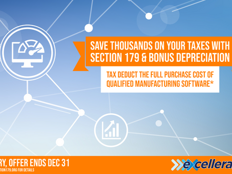 Use Section 179 Deduction to Save on Manufacturing Software