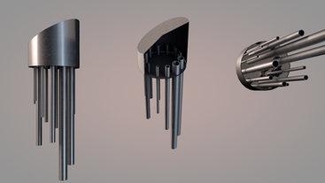 Carillon électromagnétique interactif