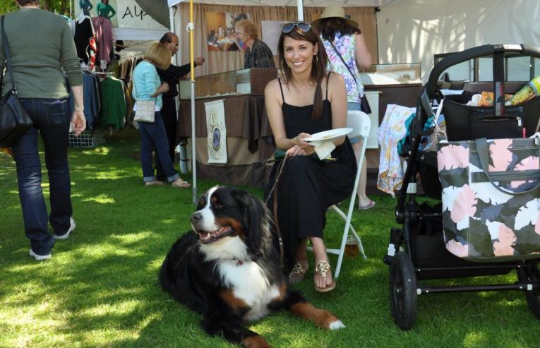 FAITP Web pics lady with dog holding a p