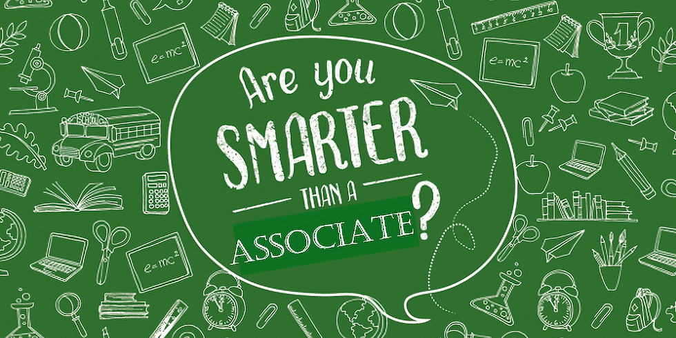 Are you Smarter than an Associate? Co-Event w/ AIA West New Jersey Happy Hour