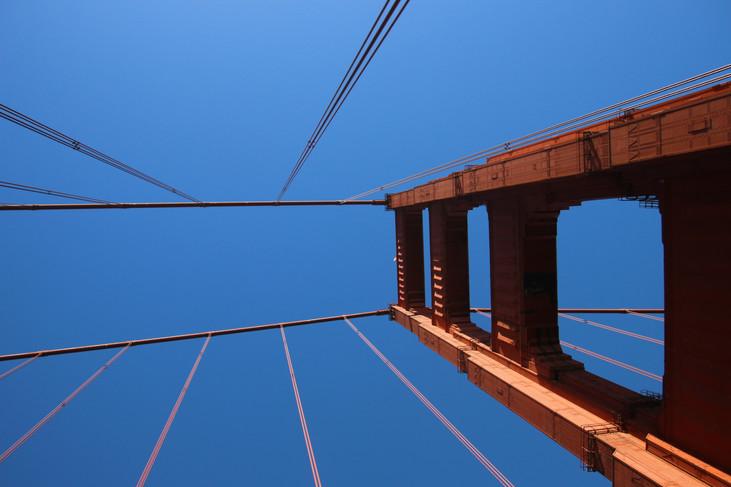 """Up from Below"" San Francisco, California. 2018"