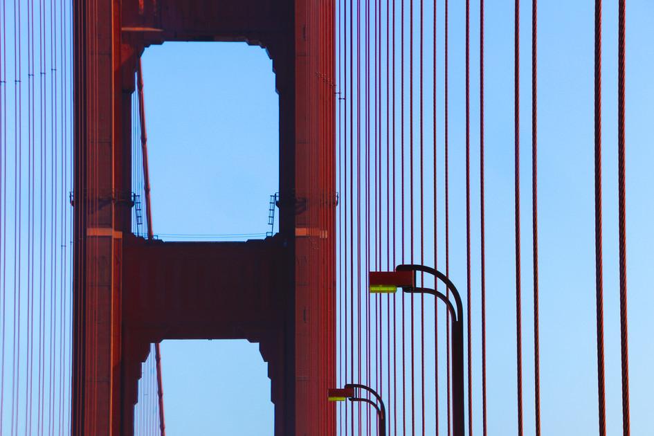 """""""Golden Gate Bridge"""" San Francisco, California. 2018"""