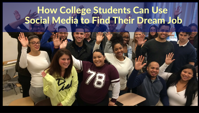How College Students Can Use Social Media to Find Their Dream Job