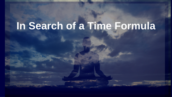 In Search of a Time Formula (Part 1)