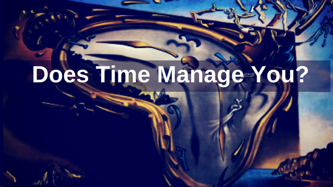 Does Time Manage You?