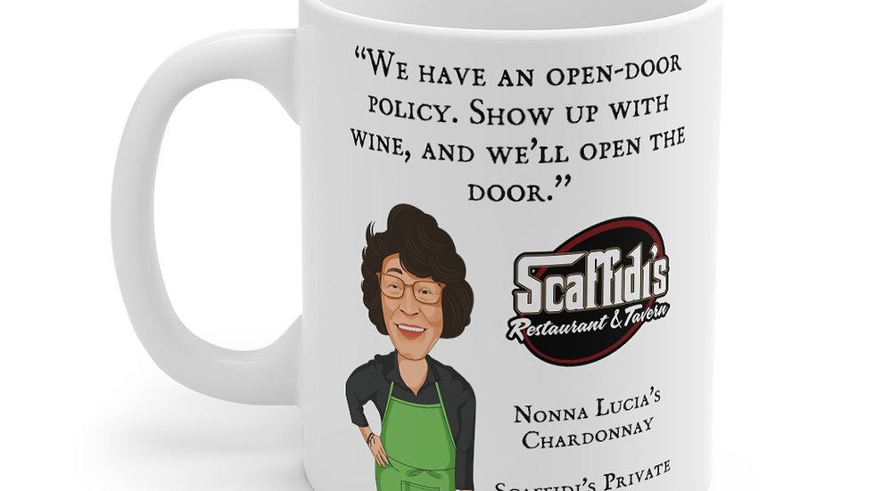 Nonna Lucia's Chardonnay Coffee Mug