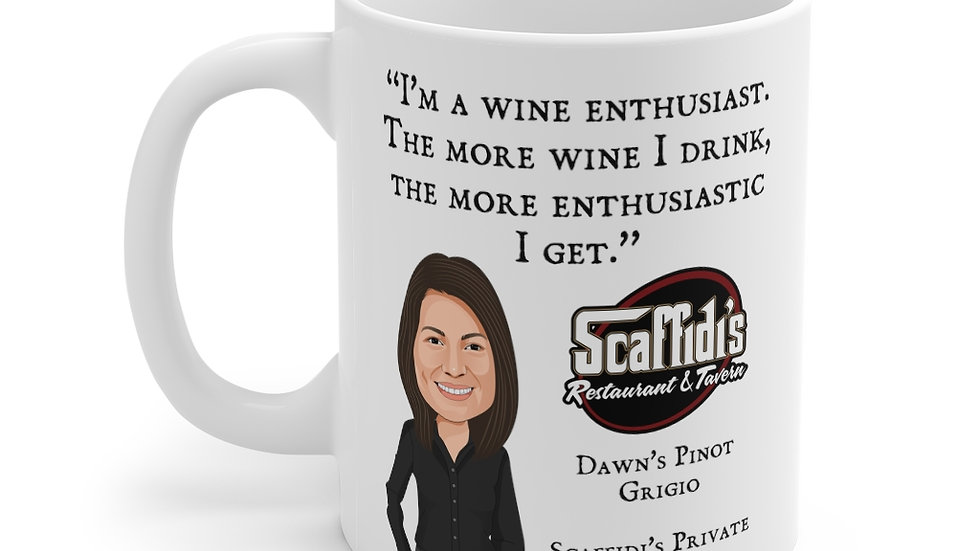 Dawn's Pinot Grigio Coffee Mug