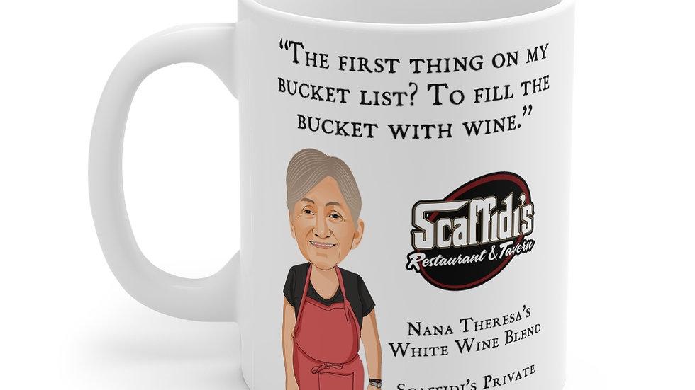 Nana Theresa's White Wine Blend Coffee Mug