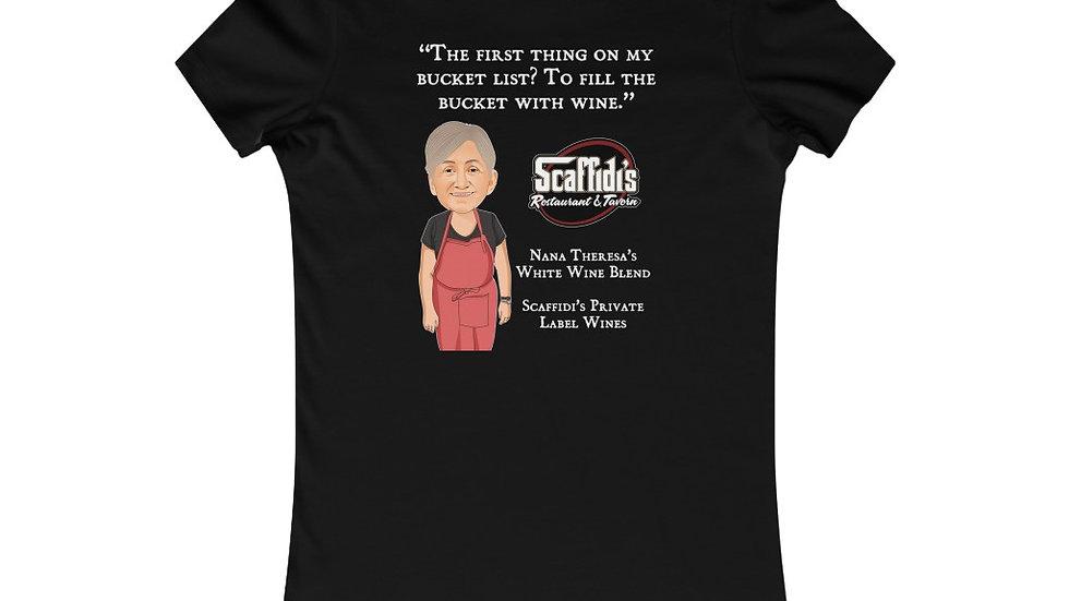 Nana Theresa's White Wine Blend Women's Shirt