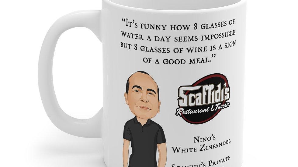 Nino's White Zinfandel Coffee Mug