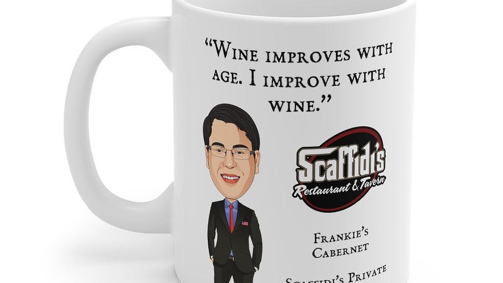 Frankie's Cabernet Coffee Mug