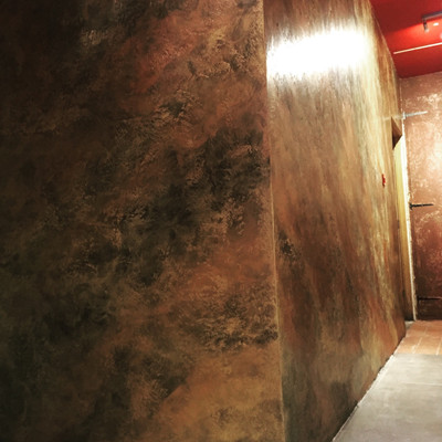 Vesuvio feature wall