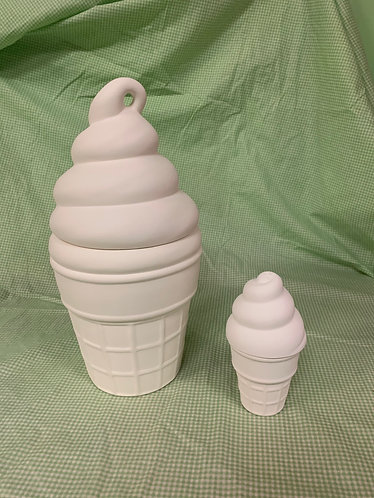 Giant Ice Cream Canister