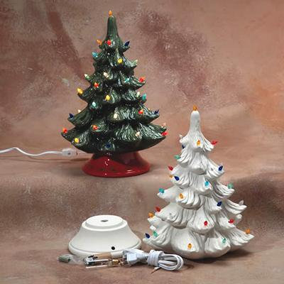 Ceramic Christmas Tree Kit