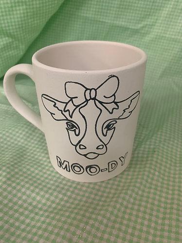 Coloring book moo-dy mug