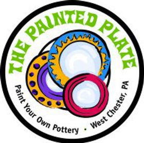 painted plate logo