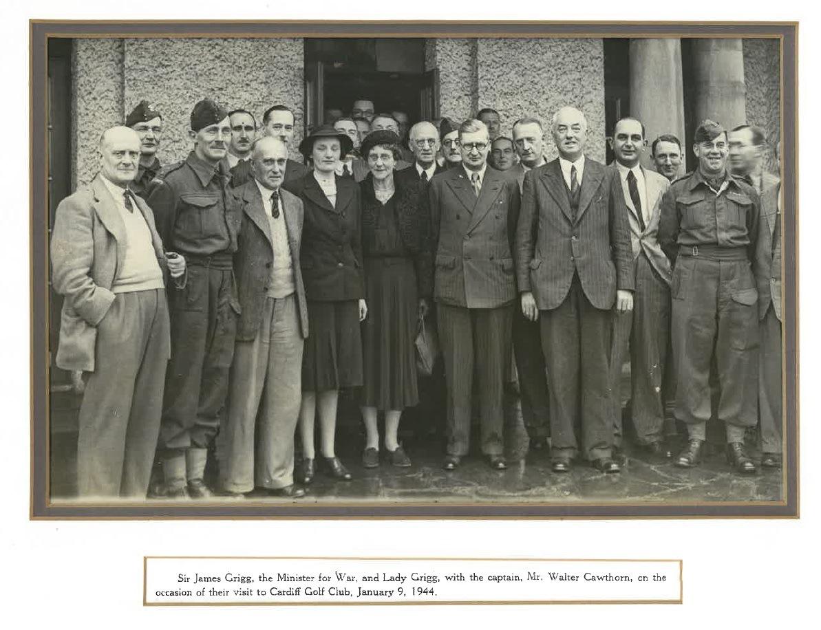 1944 Visit of Minister of War