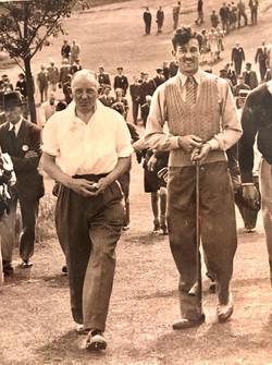 Henry Howell and Dick de Lloyd