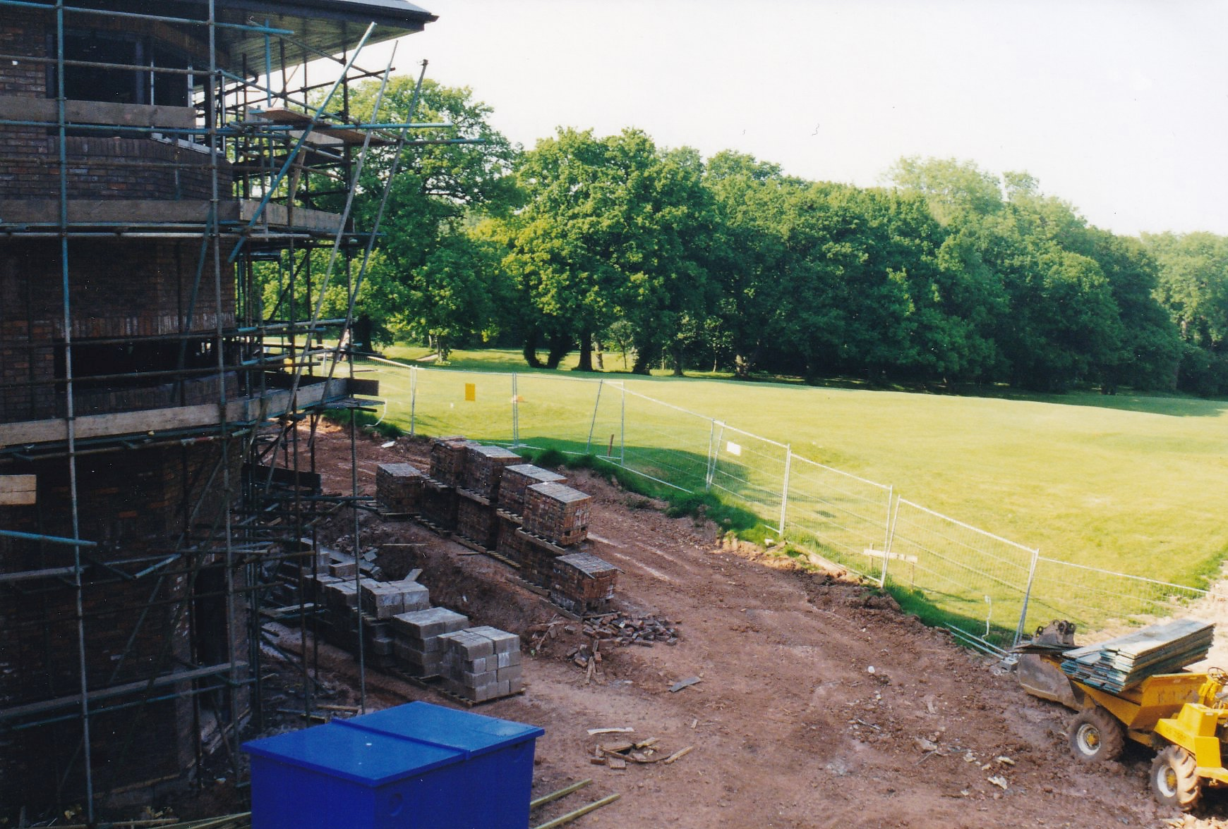 New Clubhouse Construction Phase