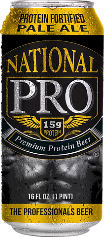 National Pro Beer Protein Beer can image
