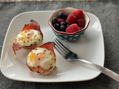 4 Ingredient Egg Cups