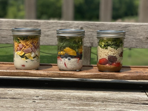 How to Make Summer Salads in a Mason Jars