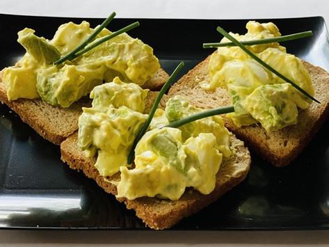 Avocado Egg Salad Appetizer