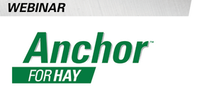 Baling Made Easy with Anchor™ for Hay